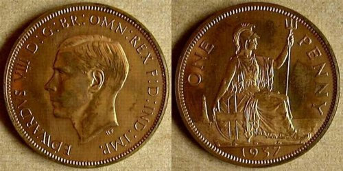 Uk Coins Of Edward Viii