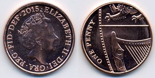 Pictures Of Uk Coins The Decimal Penny