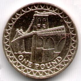 Pictures Of Uk One Pound Coins